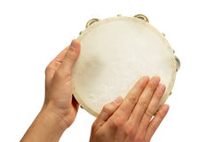 Pandereta, spanish tambourine Royalty Free Stock Photo