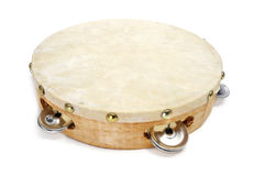 Pandereta, tamburino spagnolo Fotografia Stock Libera da Diritti