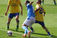 Pandev in Arsenal-Napoli Stock Photos