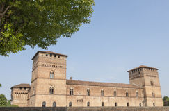 Pandino, castle Stock Photos