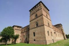 Pandino, castle Stock Photography