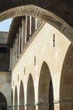 Pandino, castle court Royalty Free Stock Photos