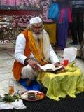 Pandit indio Imágenes de archivo libres de regalías