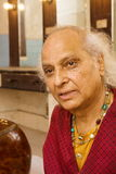 PANDIT JASRAJ. Is one of India's premier classical vocalists and the foremost exponent of Mewati Gharana. Recipient of Padma Bhushan, Surer Guru , Sangeet Royalty Free Stock Photography