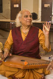 PANDIT JASRAJ. Is one of India's premier classical vocalists and the foremost exponent of Mewati Gharana. Recipient of Padma Bhushan, Surer Guru , Sangeet Royalty Free Stock Images