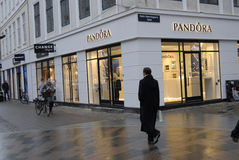 Pandora κατάστημα Στοκ φωτογραφίες με δικαίωμα ελεύθερης χρήσης