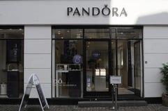 Pandora κατάστημα Στοκ εικόνες με δικαίωμα ελεύθερης χρήσης