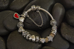 Pandora bracelet stock image