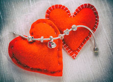 Pandora Bracelet jewelry, retro style Stock Photography