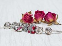 Pandora Bracelet jewelry Stock Image