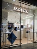 Pandora Clothing store in Rome Stock Photos