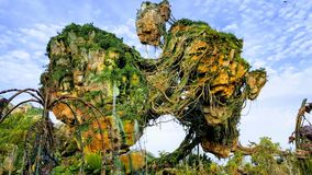 Pandora en parque del reino animal de Disneys Imagen de archivo