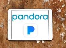 Pandora Internet Radio logo Royaltyfria Bilder