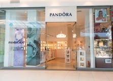 Pandora jewelry store Royalty Free Stock Photos