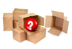 Pandora`s box Stock Photography