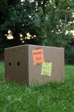 Pandoras box. Containing the worlds vices - do not open Stock Images