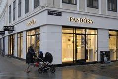 Pandora sklep Zdjęcia Royalty Free