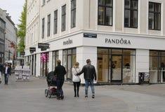 Pandora sklep Obrazy Stock