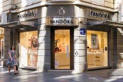 Pandora-Speicher stockfotografie