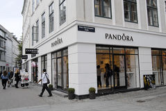 PANDORA STORE Royalty Free Stock Photo