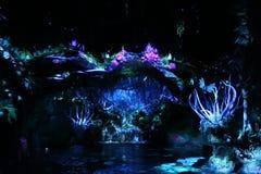 Pandora The World Of Avatar em Walt Disney fotos de stock royalty free