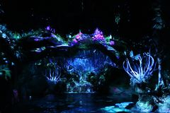 Pandora The World Of Avatar en Walt Disney fotos de archivo libres de regalías