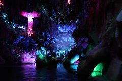 Pandora The World Of Avatar a Walt Disney immagini stock
