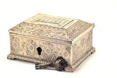 Pandoras box. A beautiful plated  box paltry Stock Image