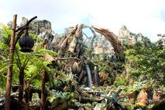 Pandore - le monde de l'avatar chez Walt Disney World images libres de droits