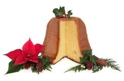 Pandoro Christmas Cake Royalty Free Stock Photos