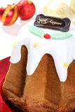 Pandoro del dolce di Natale Immagine Stock Libera da Diritti