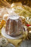 Pandoro traditional italian Royalty Free Stock Image