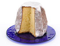 Pandoro, typical italian Christmas cake Stock Images