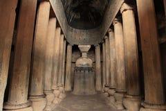 Pandu Leni grottor Arkivbilder