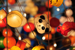 Pandy lampa Zdjęcie Royalty Free