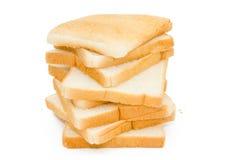 Pane affettato fotografie stock libere da diritti