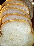 Pane affettato del frumento Immagini Stock