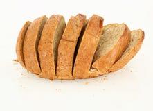 Pane affettato della cena Fotografie Stock Libere da Diritti