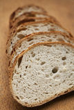 Pane affettato fresco Fotografie Stock Libere da Diritti