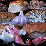 Pane all'aglio Fotografie Stock