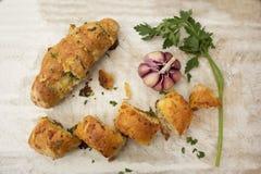 Pane all'aglio Fotografia Stock