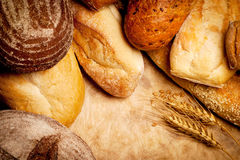 Pane Assorted   Fotografia Stock