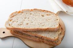 Pane bianco Fotografia Stock Libera da Diritti