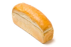 Pane bianco del pane tostato Fotografia Stock