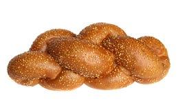 Pane bianco intrecciato Fotografia Stock Libera da Diritti