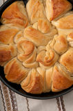 Pane bulgaro tradizionale di Pita di natale Immagine Stock Libera da Diritti