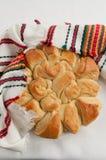 Pane bulgaro tradizionale di Pita di natale Immagine Stock