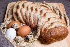 Pane caldo fresco Immagine Stock