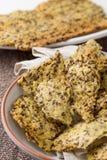 Pane casalingo croccante del vegano Immagine Stock