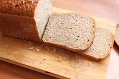 Pane che è pronto ad essere un panino immagine stock